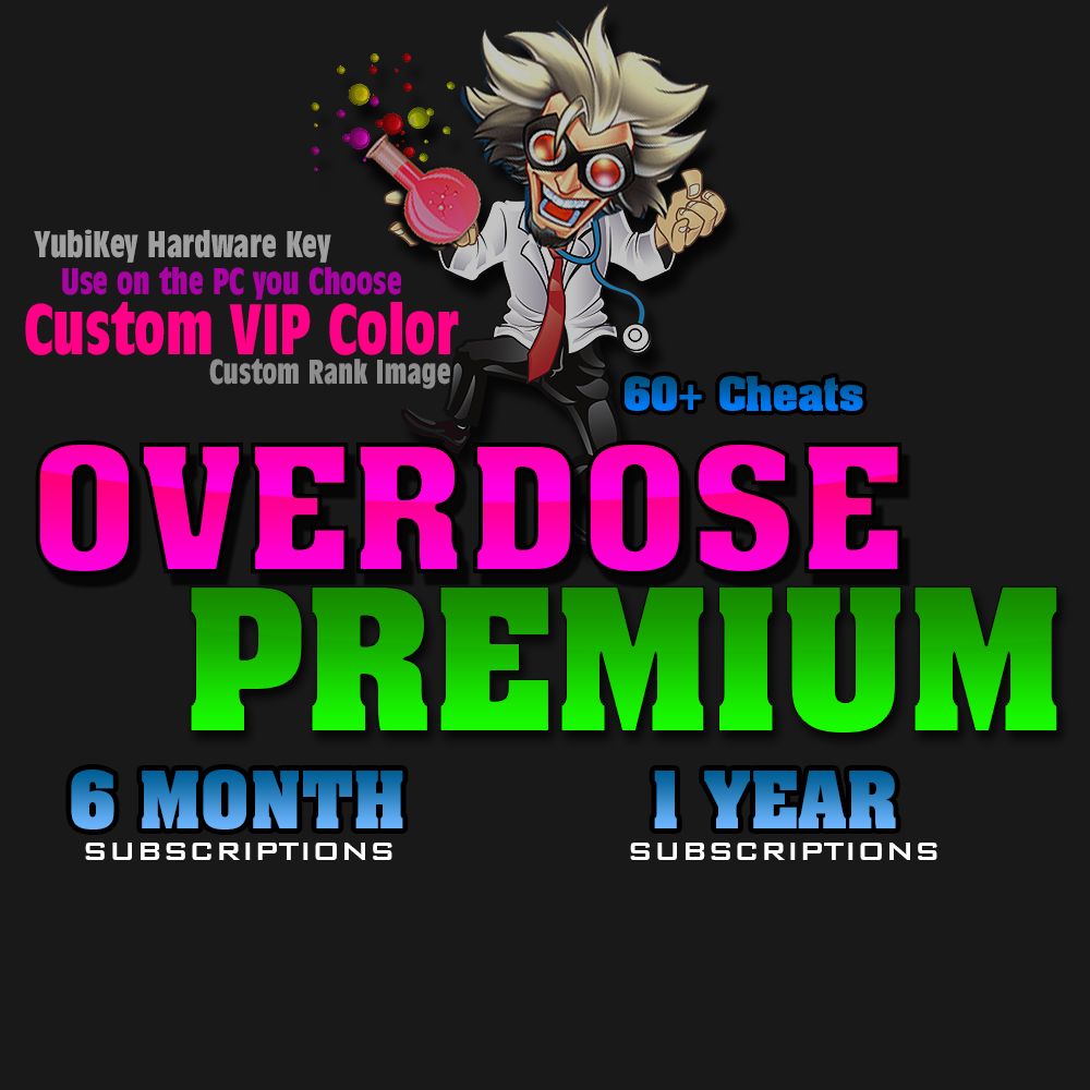 Overdose Premium Cheat Package
