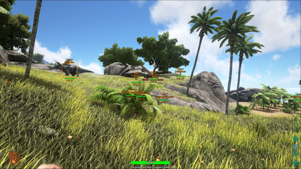 ARK: Survival aimbot, ESP for players, dinos