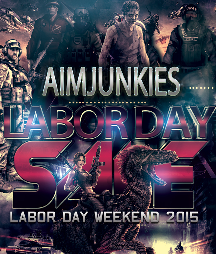 AimJunkies 2015 Labor Day Sale for hacks and cheats
