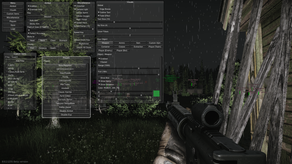 escape from tarkov hacks download